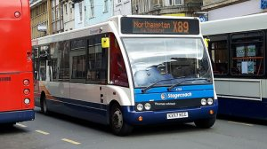 Temporary timetable for Stagecoach Bus Services 88, 89 & x89
