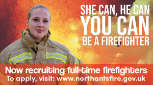 Do you have what it takes to be a Fire Fighter?