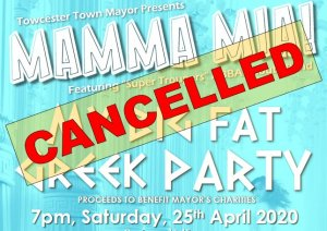 Cancelled Events and Hall Closures