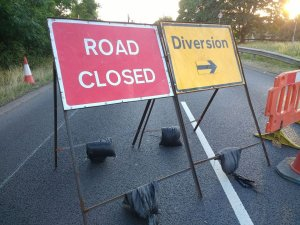 A43 Southbound Overnight Road Closures 12th Oct to 10th Nov