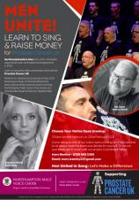 MEN UNITE! LEARN TO SING AND HELP RAISE MONEY FOR PROSTATE CANCER UK